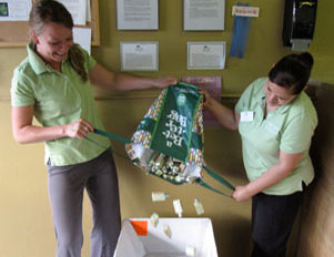 Organic Housekeepers recycles soaps